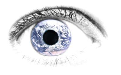 Die Augen, mit denen wir auf die Welt schauen